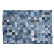 Tapete Jeans Patchwork